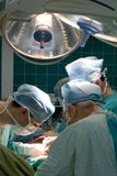 Sitio en funcionamiento de los cirujanos Fotos de archivo libres de regalías