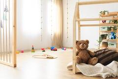 Sitio etéreo minimalista de los niños imagen de archivo libre de regalías