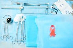 Sitio ginecológico en el hospital Fotografía de archivo