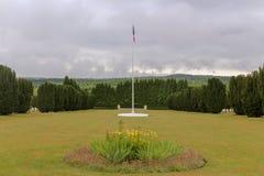 Sitio grave WW1 para los soldados caidos fotografía de archivo libre de regalías