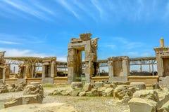 Sitio histórico 08 de Persepolis foto de archivo