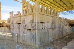 Sitio histórico 10 de Persepolis fotografía de archivo libre de regalías