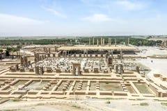 Sitio histórico 25 de Persepolis imagen de archivo