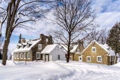 Sitio histórico de Thomas Brunet House Imagenes de archivo