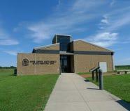 Sitio histórico del estado del campo de batalla de la cala de la mina, Pleasanton, KS Foto de archivo libre de regalías