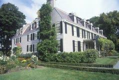 Sitio histórico nacional de John Adams Imagen de archivo