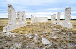 Sitio histórico nacional de Laramie de la fortaleza Fotografía de archivo libre de regalías