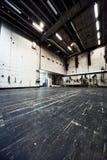 Sitio industrial foto de archivo libre de regalías