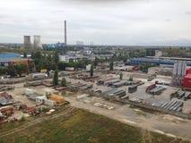 Sitio industrial Imagen de archivo libre de regalías