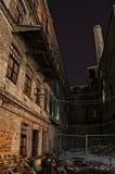 Sitio industrial abandonado Foto de archivo libre de regalías