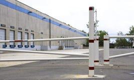 Sitio industrial vacante Imagenes de archivo