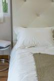 Sitio interior de la cama Imagen de archivo libre de regalías