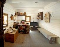 Sitio interior del vendedor militar cosaco Fotos de archivo