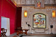 Sitio medieval imagenes de archivo