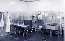 Sitio moderno del lavaplatos, entonado Imagen de archivo libre de regalías