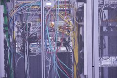 Sitio moderno del servidor de la red Fotos de archivo libres de regalías