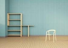 Sitio moderno mínimo del espacio Imágenes de archivo libres de regalías