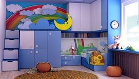 Sitio, nuevo sitio para los niños Imagen de archivo libre de regalías