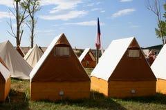 Sitio para acampar Fotografía de archivo libre de regalías
