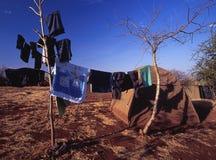 Sitio para acampar Fotos de archivo