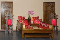 Sitio para la relajación en un balneario Imágenes de archivo libres de regalías