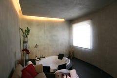 Sitio privado del balneario Foto de archivo libre de regalías