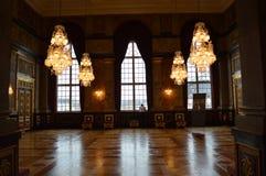 Sitio real en Copenhague Imagen de archivo libre de regalías