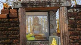 Sitio religioso famoso Tantirimale Sri Lanka foto de archivo