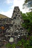 Sitio sagrado en la isla grande de Hawaii fotografía de archivo libre de regalías