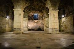 Sitio subterráneo rústico fotos de archivo libres de regalías