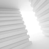 Sitio vacío blanco con la ventana ilustración del vector