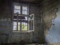 Sitio vacío en un edificio abandonado Fotos de archivo