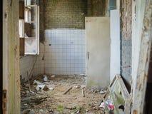 Sitio vacío en un edificio abandonado Imagen de archivo