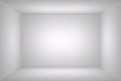 Sitio vacío simple blanco Imagenes de archivo