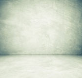 Sitio vacío del cemento en la opinión de perspectiva, fondo del grunge Foto de archivo
