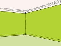 Sitio verde vacío stock de ilustración