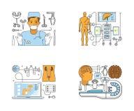 Sitio web del centro médico libre illustration