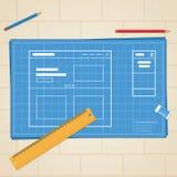 Sitio web del modelo Fotos de archivo libres de regalías