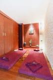 Sitio y balneario del masaje fotografía de archivo libre de regalías