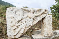 Sitio y ruinas de Ephesus. Imagen de archivo