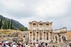 Sitio y ruinas de Ephesus. Imagen de archivo libre de regalías