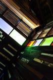Sitio y ventana viejos Imágenes de archivo libres de regalías