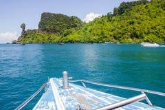 Sitios de la zambullida de la isla del pollo y en las islas Tailandia de Phi Phi Foto de archivo libre de regalías