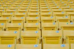 Sitios vacíos en el estadio Foto de archivo libre de regalías