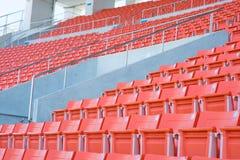 Sitios vacíos en el estadio Imagen de archivo libre de regalías