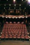 Sitios vacíos en teatro Imágenes de archivo libres de regalías