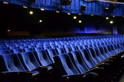 Sitios vacíos en un teatro vacío Fotografía de archivo libre de regalías