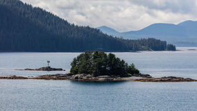 Sitka, Alaska. A small island near Sitka, Alaska Royalty Free Stock Photos
