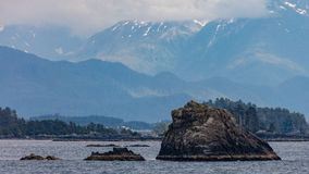 Sitka. Scenery near the small town of Sitka, Alaska Stock Photos
