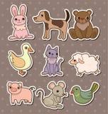 Sitkcers animais Fotos de Stock
